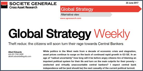 """""""Les citoyens déchaineront bientôt leur colère sur les banquiers centraux pris la main dans le sac"""""""