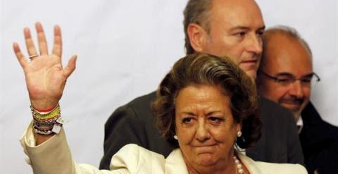 Barberá y Fabra tras conocer el resultado del 24 de mayo
