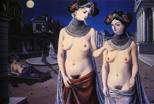 The strollers  - Paul Delvaux