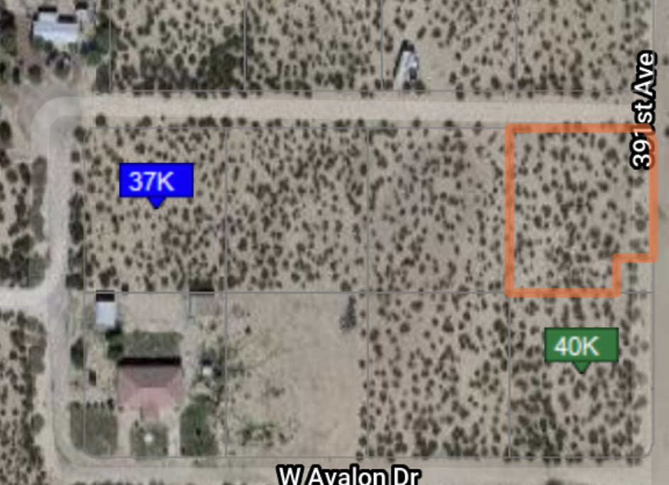 39308 W Cheery Lynn Rd Tonopah, AZ 85354 vacant lot wholesale property listing