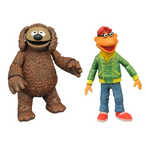 Image of Muppets Best Of Series 1 Scooter & Rowlf Action Figure 2-Pack - JANUARY 2021