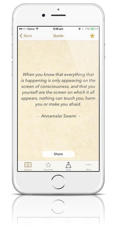 meditation quotes app by LiveAndDare.com