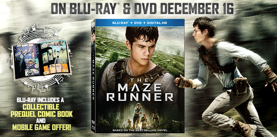 The Maze Runner Blu-ray