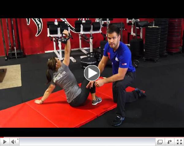 Day 4: Overhead shoulder mobility and stability