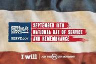 911 National Service Day logo