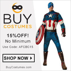 15% off at BuyCostumes!
