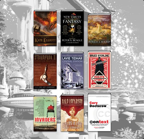 The Humble Book Bundle: Stellar Sci-Fi & Fantasy by Tachyon