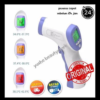 BISA BAYAR DI TEMPAT Thermometer gun infrared Suhu IR Termometer Laser Termo Gun DT-8826 / Termometer Digital Suhu Badan Tubuh Thermo Gun / medical in
