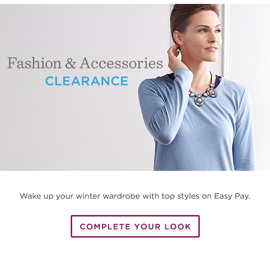 Fashion & Accessories Clearance