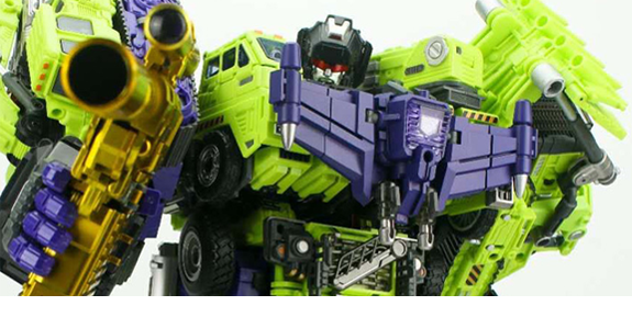 GT-99DX ReBuilder with Golden Pistol