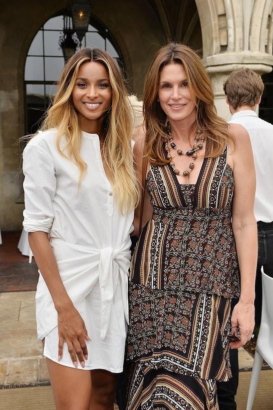 Ciara and Cindy Crawford