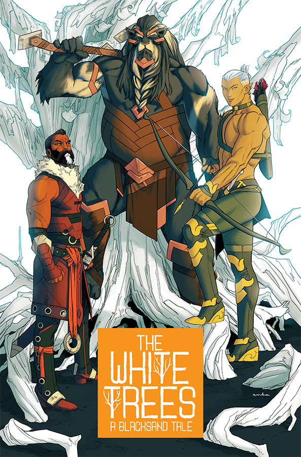 First look at Chip Zdarsky, Kris Anka, and Matt Wilson's 'White Trees'