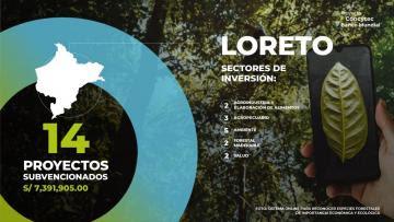 Concytec designa S/ 7.3 millones para impulsar la competitividad de la región Loreto