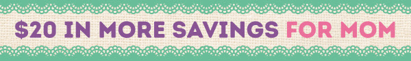 $20 in Momentous Savings!
