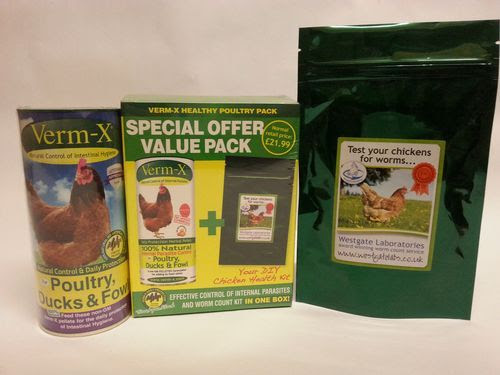 Verm-X Healthy Poultry Pack with Worm Count Kit