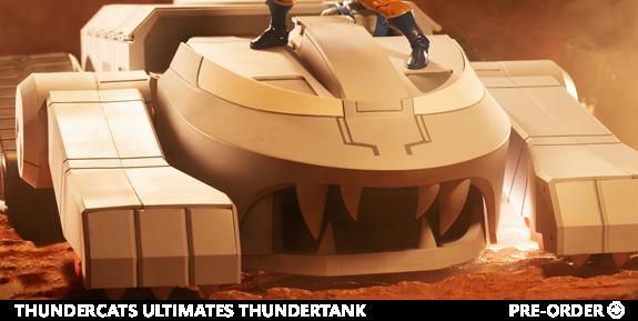 ThunderCats Ultimates Thundertank