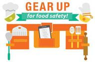 Gear Up for Food Safety logo
