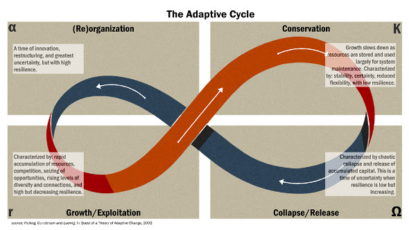 Adaptive cycle graphic
