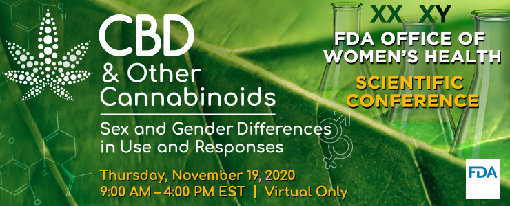 Graphic image of CBD & Other Cannabinoids Scientific Conference