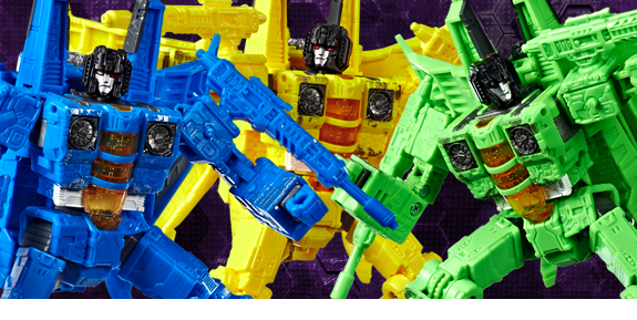 Transformers War for Cybertron: Siege Voyager Seekers Three-Pack