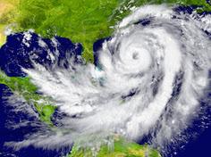 hurricane off Florida coast