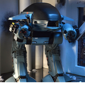 Robocop ED-209 Figure With Sound