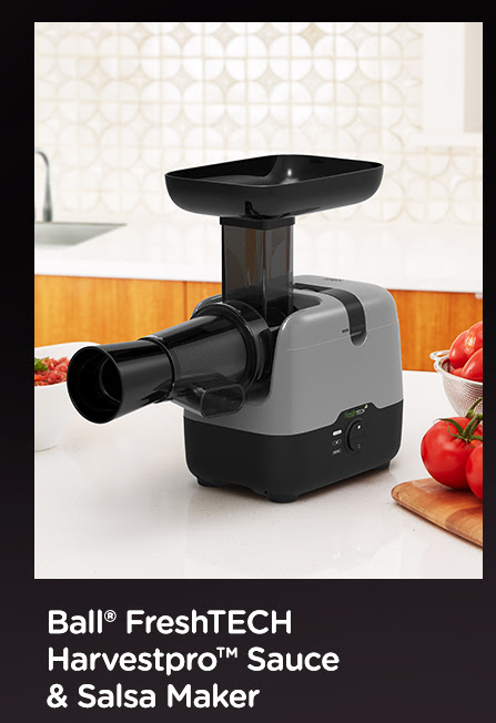 Ball® FreshTECH Harvestpro™ Sauce and Salsa Maker