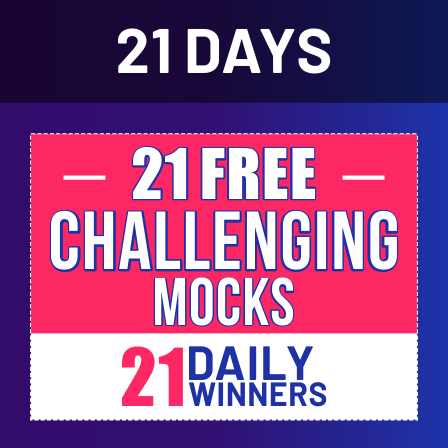 21 Days | 21 Free All India Mocks Challenge- Attempt Rajasthan High Court Mock :LIVE NOW_30.1