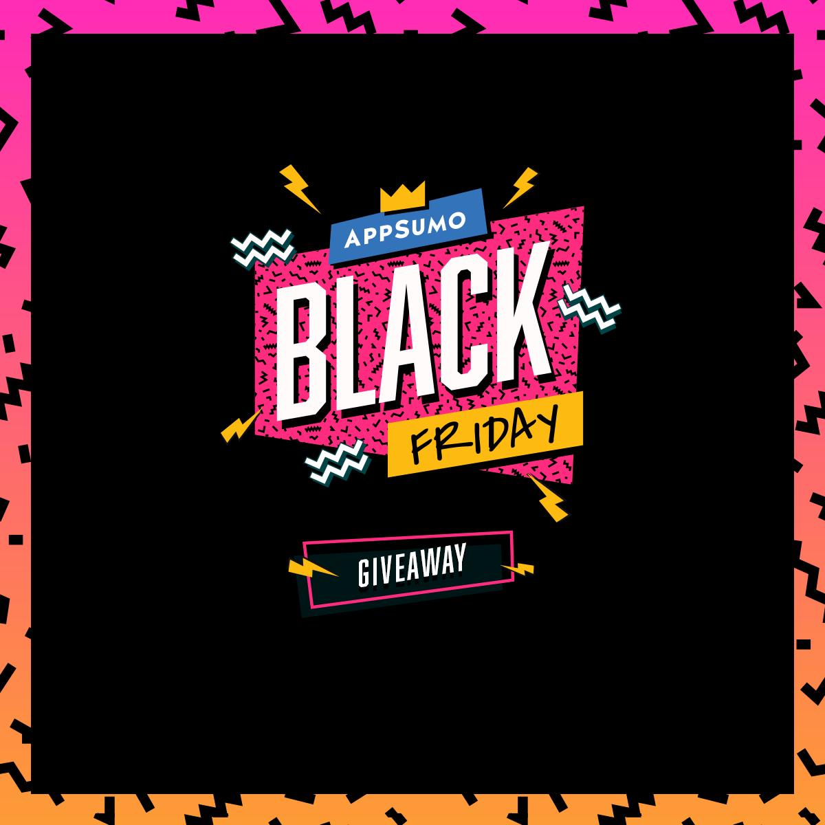 Appsumo Black Friday Giveaway