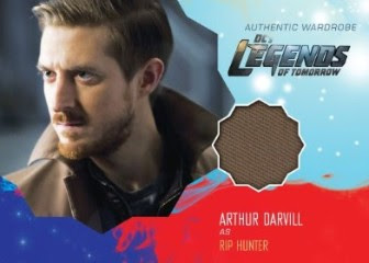 DC's Legends of Tomorrow Trading Cards Seasons 1 & 2 - Wardrobe Card - Rip Hunter