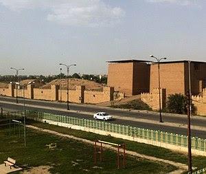 Nineveh. The Mashki Gate. Reconstructed. One o...