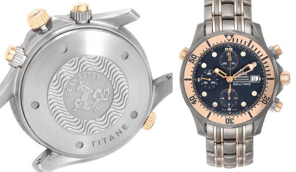 Seamaster Titanium Rose Gold