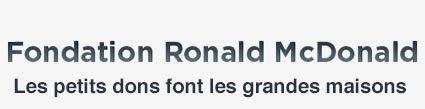 Fondation Ronald McDonald