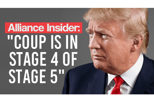 "Alliance Insider: ""Coup in Stage 4 of Stage 5"""
