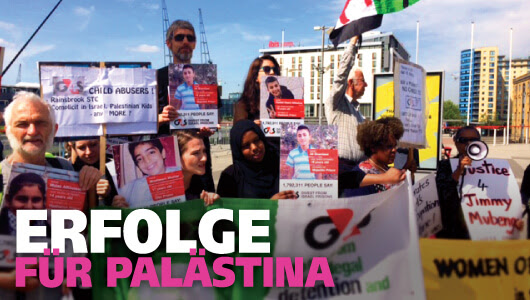 Erfolge für Palästina