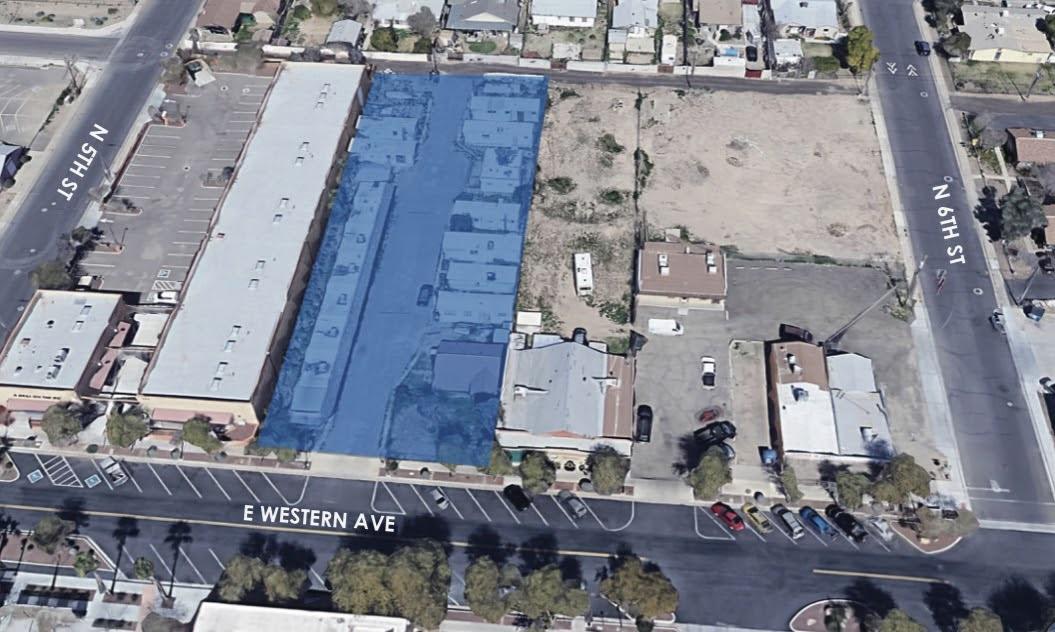 518 E Western Ave, Avondale, AZ 85323 aerial view