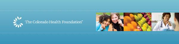The Colorado Health Foundation Header