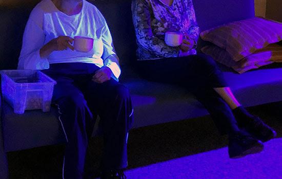 geriatricarea estimulacion sensorial Snoezelen