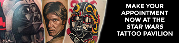 Get Your Star Wars Tattoo at Celebration