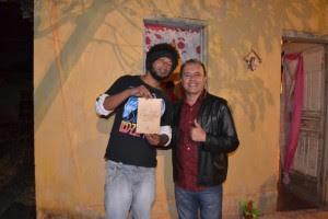 Rogério Sagui e Cacau Novaes (Foto: Iguaí Mix)