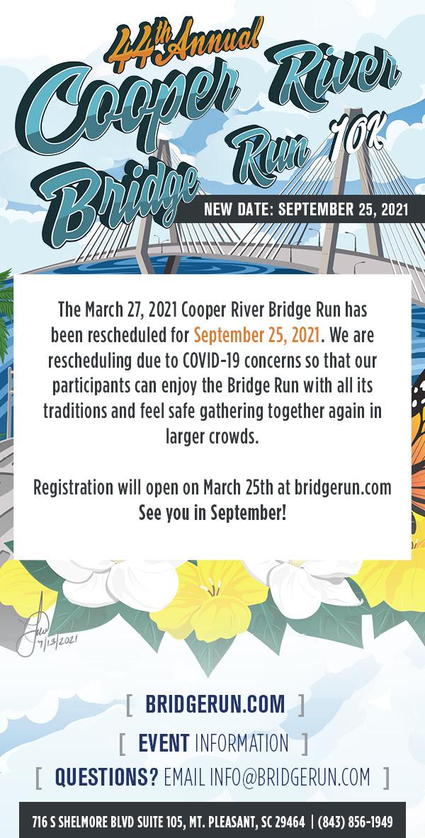 Bridge Run Rescheduled