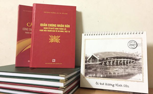 Ra mắt sách của Thượng tướng, Bộ trưởng Bộ Công an Tô Lâm
