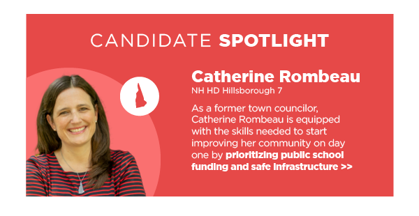 Candidate Spotlight: Catherine Rombeau, NH HD Hillsborough 7