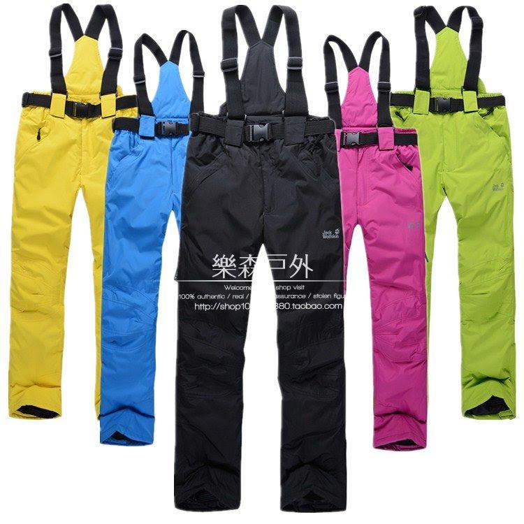 Лыжные брюки однотонные