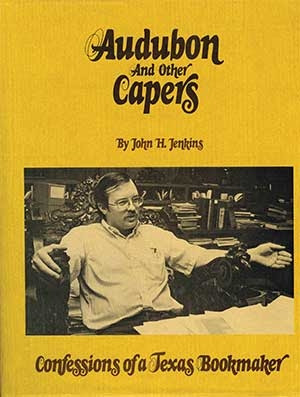 Book jacket of Audubon and other Capers