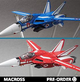 MACROSS VF-1J VALKYRIE MAX & MIRIYA 1/72 SCALE COLLECTIBLE MODEL SET