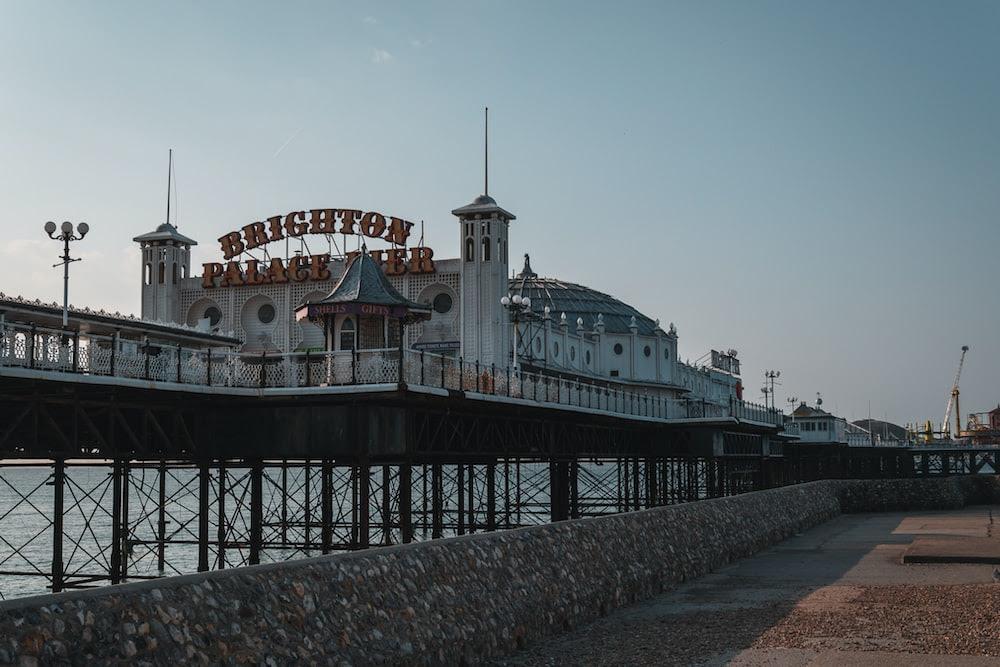 Brighton palace Pier building