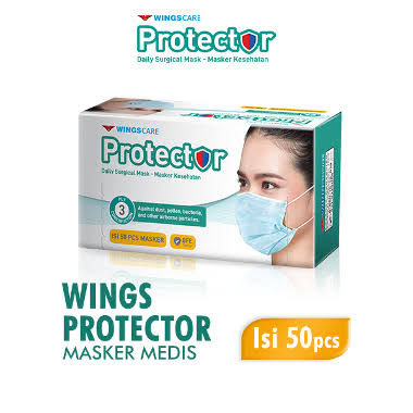 WINGSCARE Protector Masker 3ply 50s