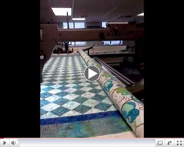 Longarm quilting at Laurena's in Burlington MA