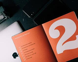 orange design book